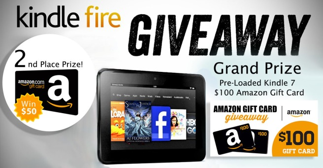 Kindle Fire Giveaway(2)
