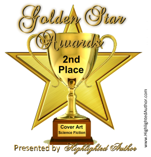 golden star awards 2nd place - Science Fiction trophy 300